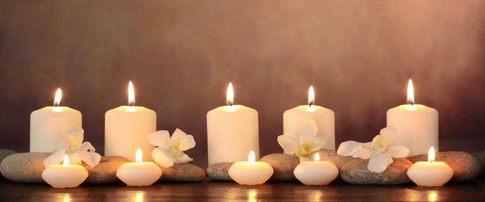 Candles banner