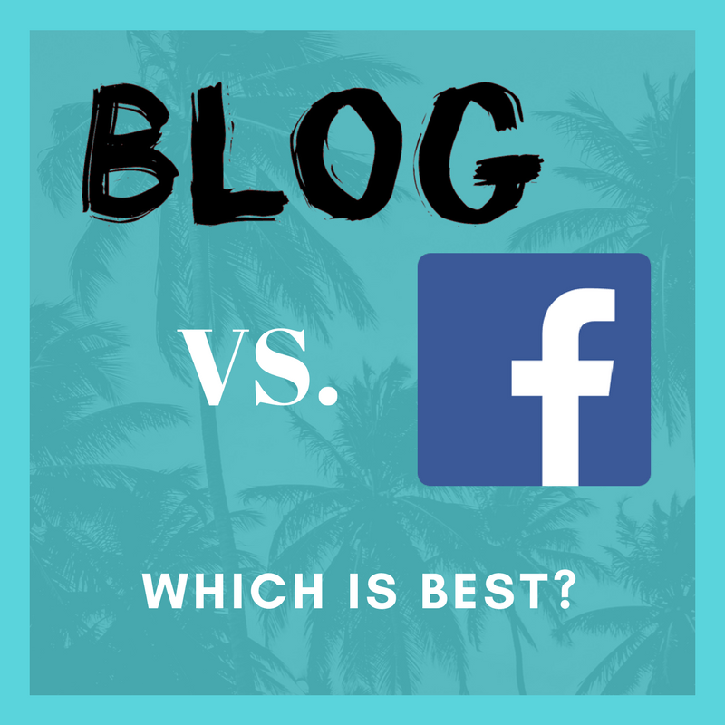 Which is Better, Posting to a Blog and Sharing or Directly