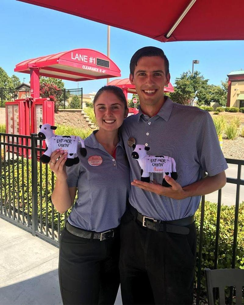 congratulations to our newest team leaders megan and jeremy