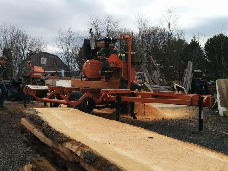 The Story Behind a Portable Sawmill, a Home Project, and