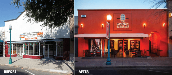 Downtown roseville facade rebate program