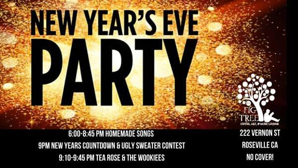 The Fig Tree Coffee New Year S Eve Party
