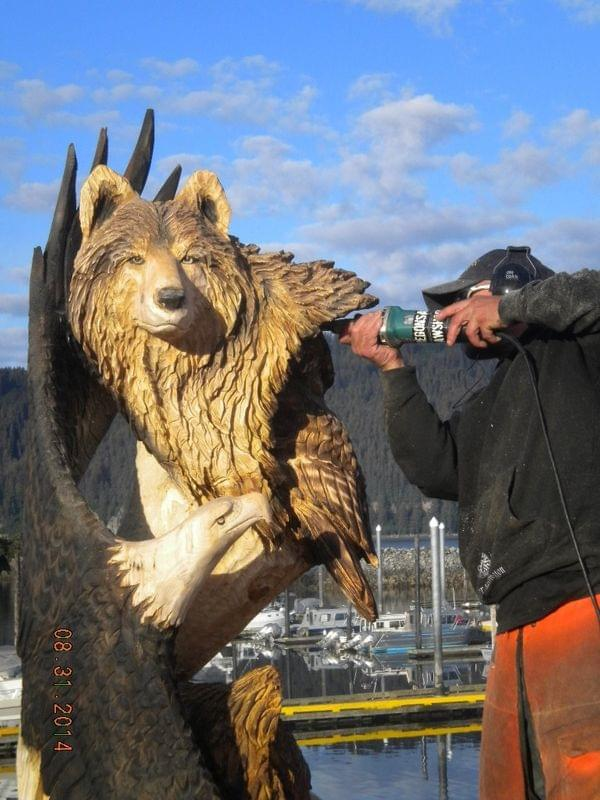 Craft invitational chainsaw carving competition