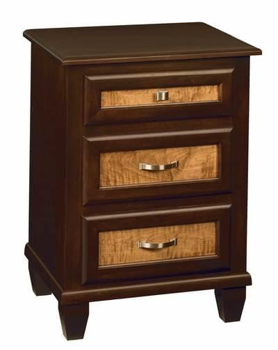 Bayview 3 drawer nightstand tn