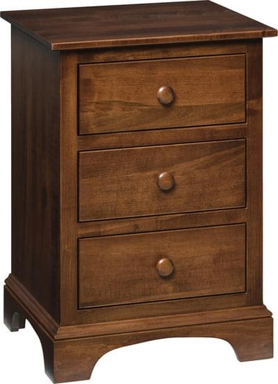Milroy 3 drawer nightstand