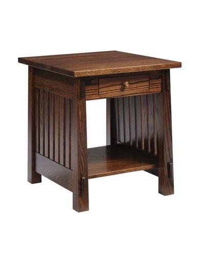 4575 country mission end table