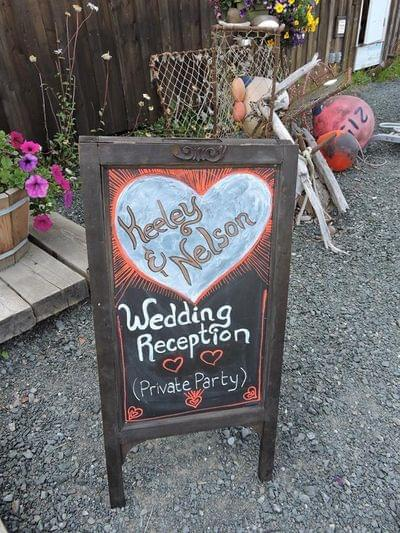 Keeley nelsen wedding sign