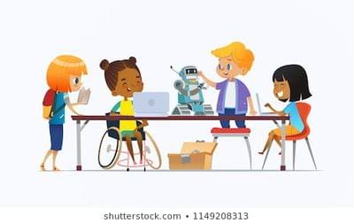 Inclusive education images stock photos vectors shutterstock inclusive classroom clipart 442 280