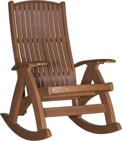 Pcram poly comfort rocker antique mahogany unedited copy
