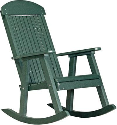 Pprg poly porch rocker green copy