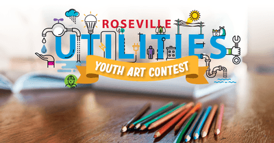 Roseville utilities youth art contest 2020