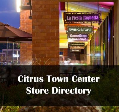 Citrus town center community store directory