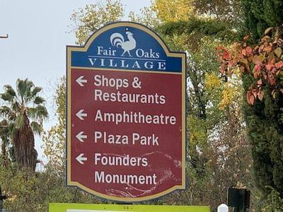 Fair oaks signs