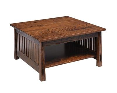 4575 country mission square coffee table
