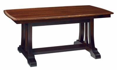 Christy trestle dining table tn