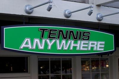 Tennis%20anywhere%20with%20lighting %20painted%20acrylic%20sign%20with%20painted%20laser%20cut%20acrylic%20letters%20and%20vinyl%20graphics