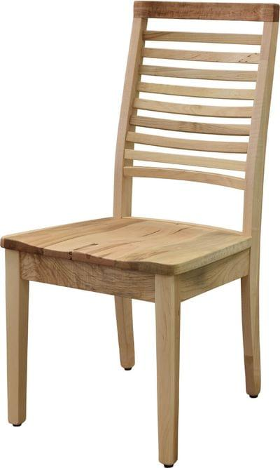 Simply organic side chair