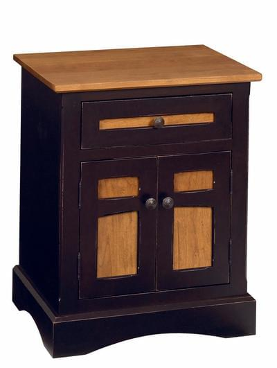 Montpelier 2 door 1 drawer night stand tn