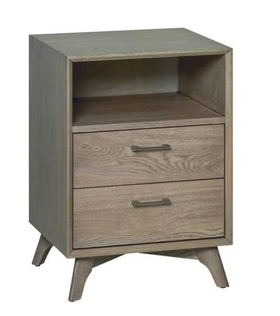 South beach 2 drawer nightstand tn