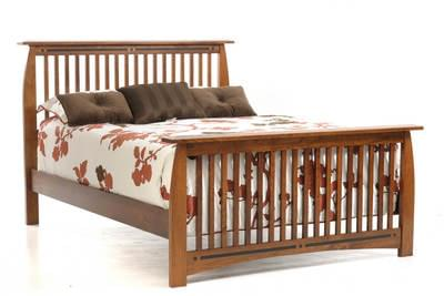 Vyt572qn vineyard queen slat bed