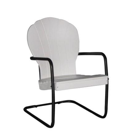 White manchester chair