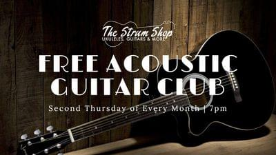 Free acoustic guitar club