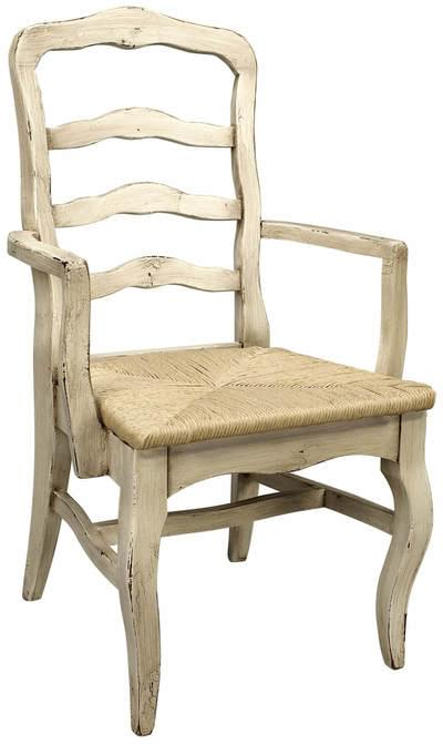Royal court rush seat arm chair tn