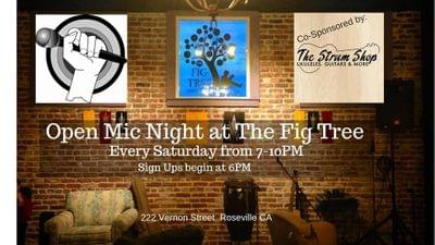 Sat open mic night