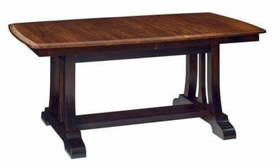 Christy trestle extension table tn