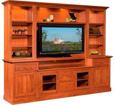 Clark cabin creek wall unit