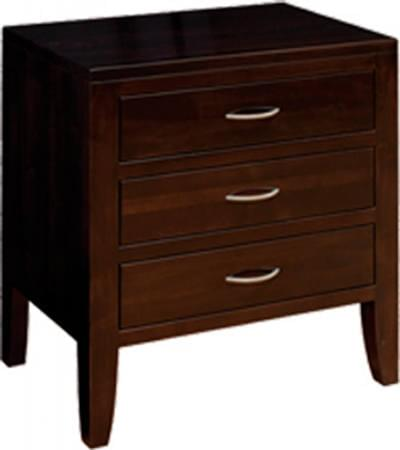 Br 1345 3 drawer nightstand