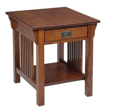 612 lexington mission end table ocs113