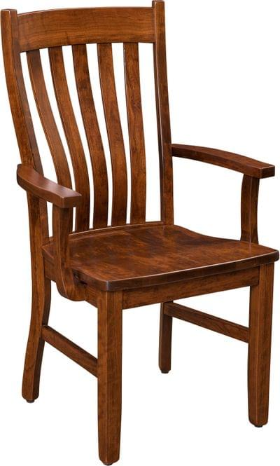 Sutter mills arm chair