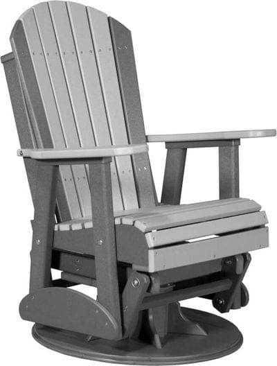 2sapgdgs 2 swivel adirondack poly glider dove gray slate copy