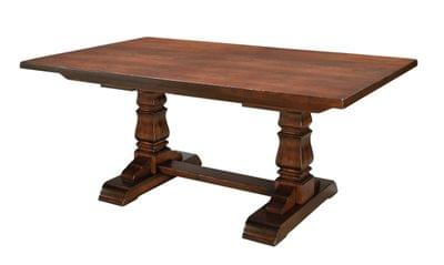 Provincial cottage dining table tn