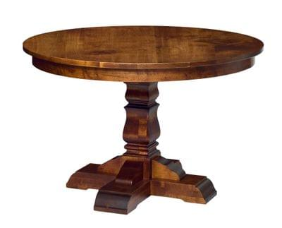 Provincial cottage round dining table tn