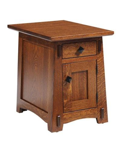5600 olde shaker chairside end table tn
