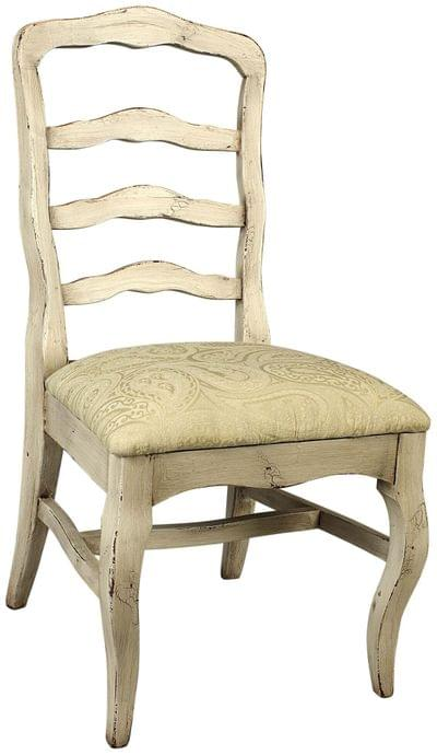 Royal court upholstered side chair tn
