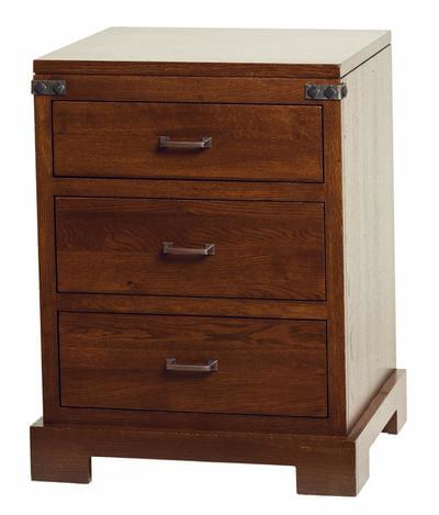 Mary ann 3 drawer nightstand tn