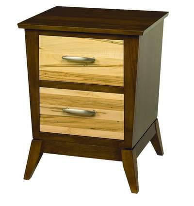 Metro 2 drawer nightstand tn