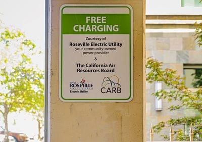 Free charging downtown roseville