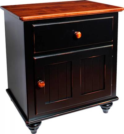 Wb 1744 door nightstand