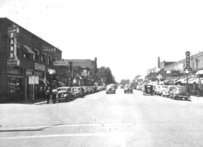 Downtown roseville history
