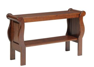 3500 sleigh sofa table tn