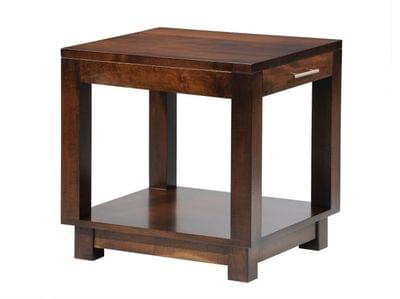 536 urban end table w drw tn