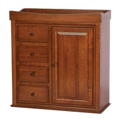 Hc 407 heirloom wardrobe changing table