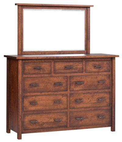Mfm066dr%20mfm052mr%20mountain lodge high dresser w mirror rc 113