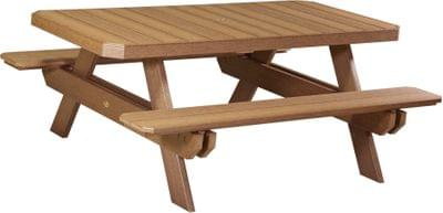P6rptam poly 6 rectangular picnic table antique mahgany copy